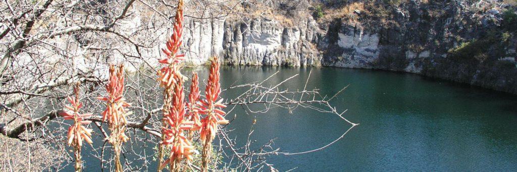 Lake Otjikoto Namibië