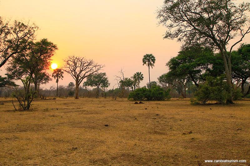 Mosi-oa-Tunya National Park Livingstone Zambia