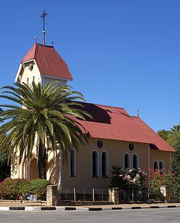 St. Barbara Church Tsumeb Namibië