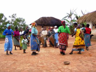 Deneja cultural village bij Viphya Plateau Malawi