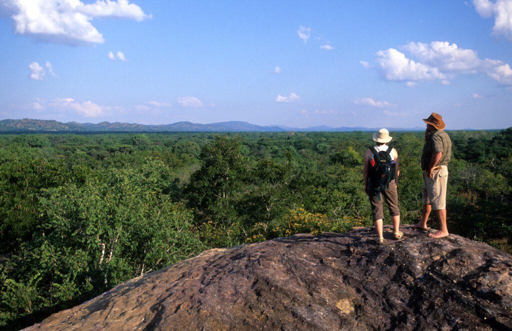 Uitzicht Mwabvi Wildlife Reserve Malawi