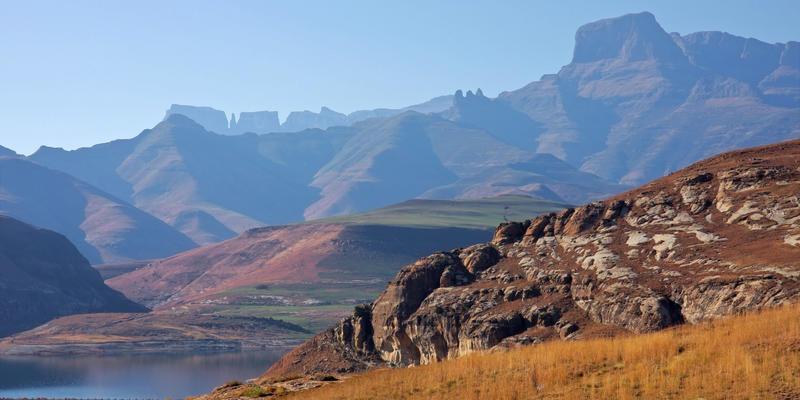 Ukhahlamba Mountains Drakensbergen Zuid-Afrika