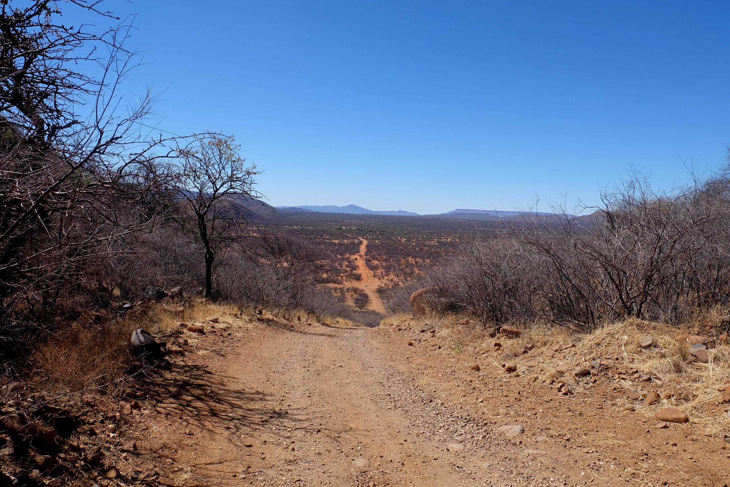 Erindi game reserve, namibie 4x4