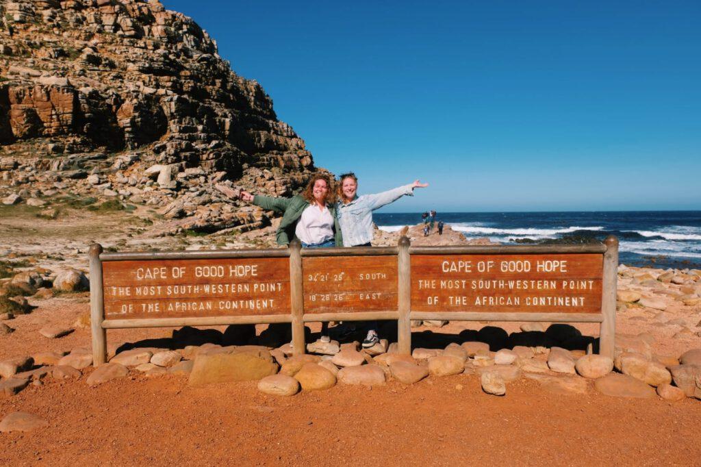 Kaap de Goede Hoop bij Kaapstad in Zuid-Afrika