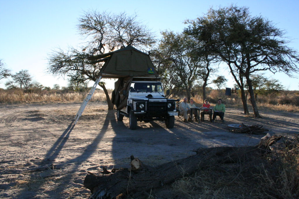 Passarge Valley in Central Kalahari Game Reserve Botswana