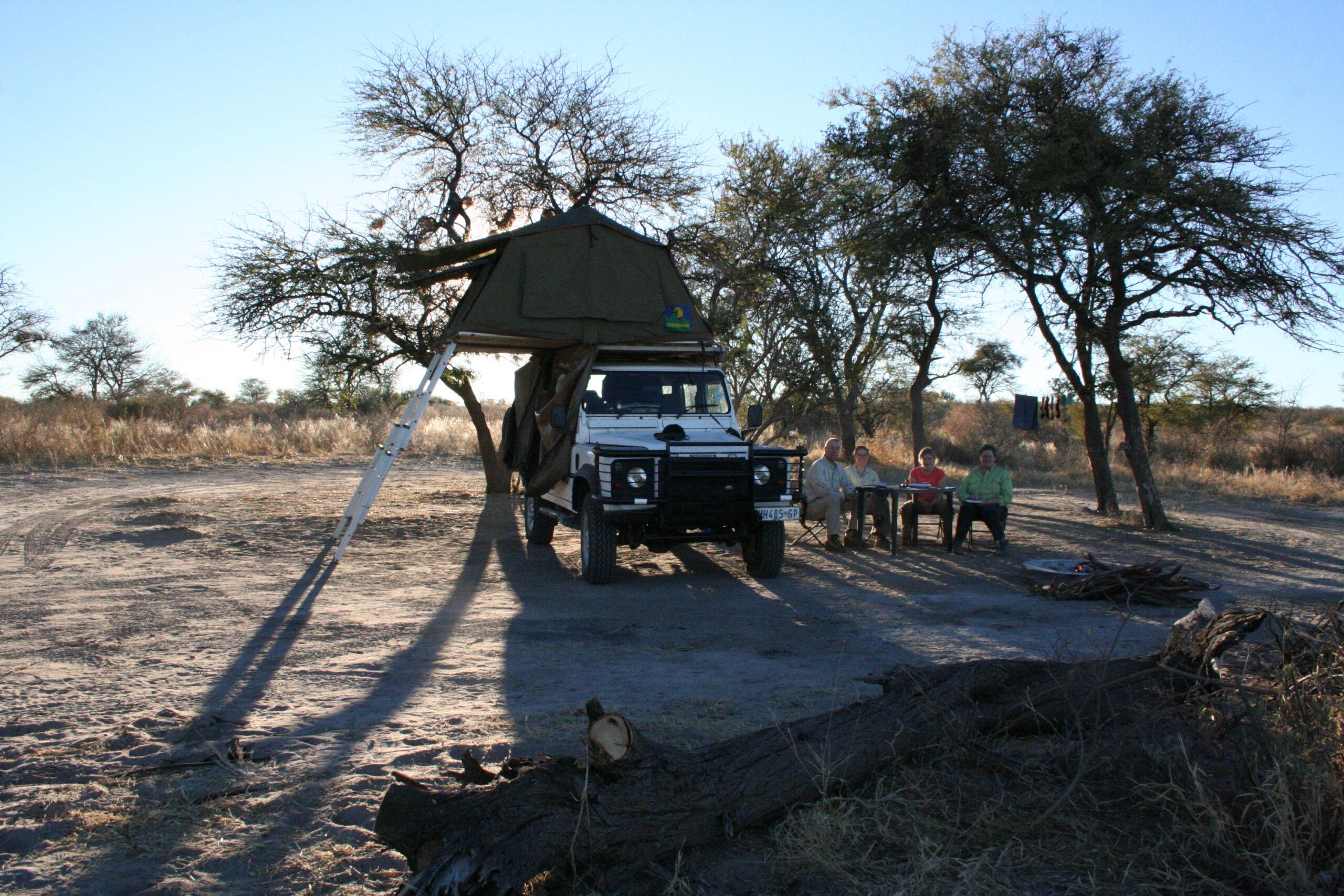 Passarge Valley in Central Kalahari Game Reserve Botswana
