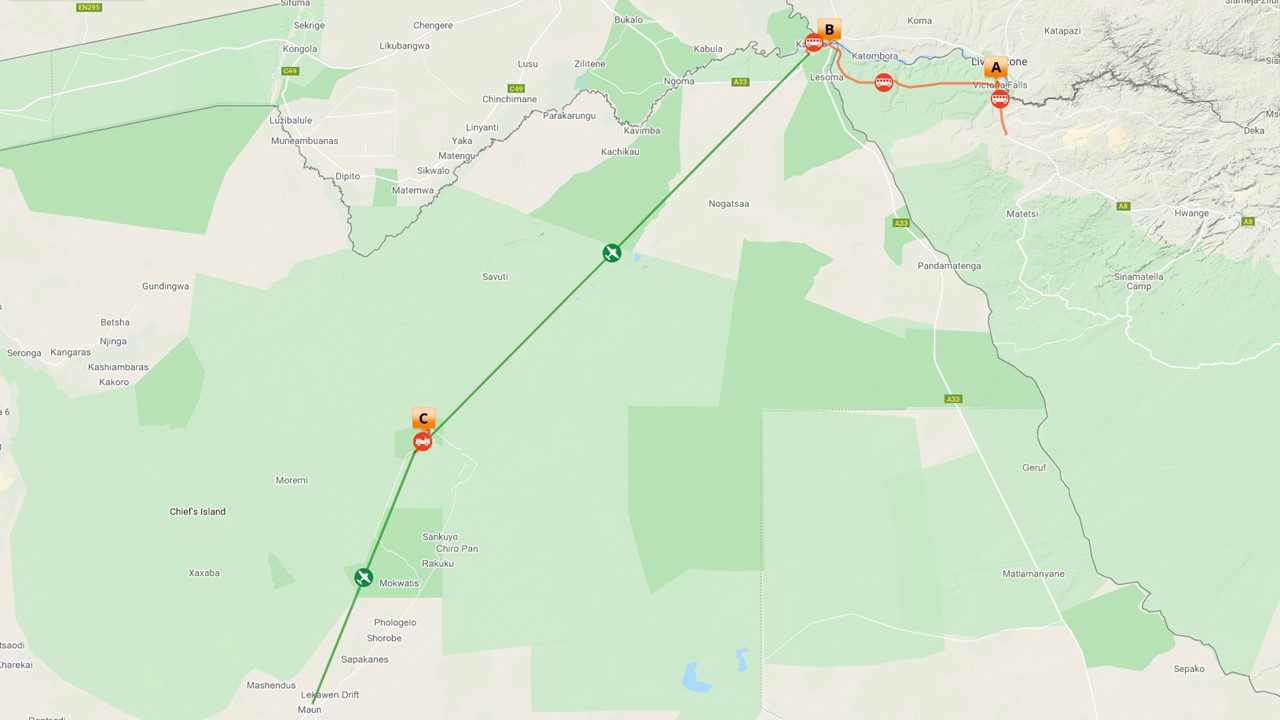 Individuele rondreis Botswana - Lodge & kampeer safari - 8 dagen