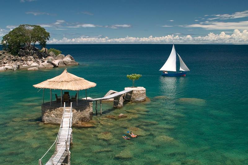 Kaya Mawa op Likoma Island Lake Malawi
