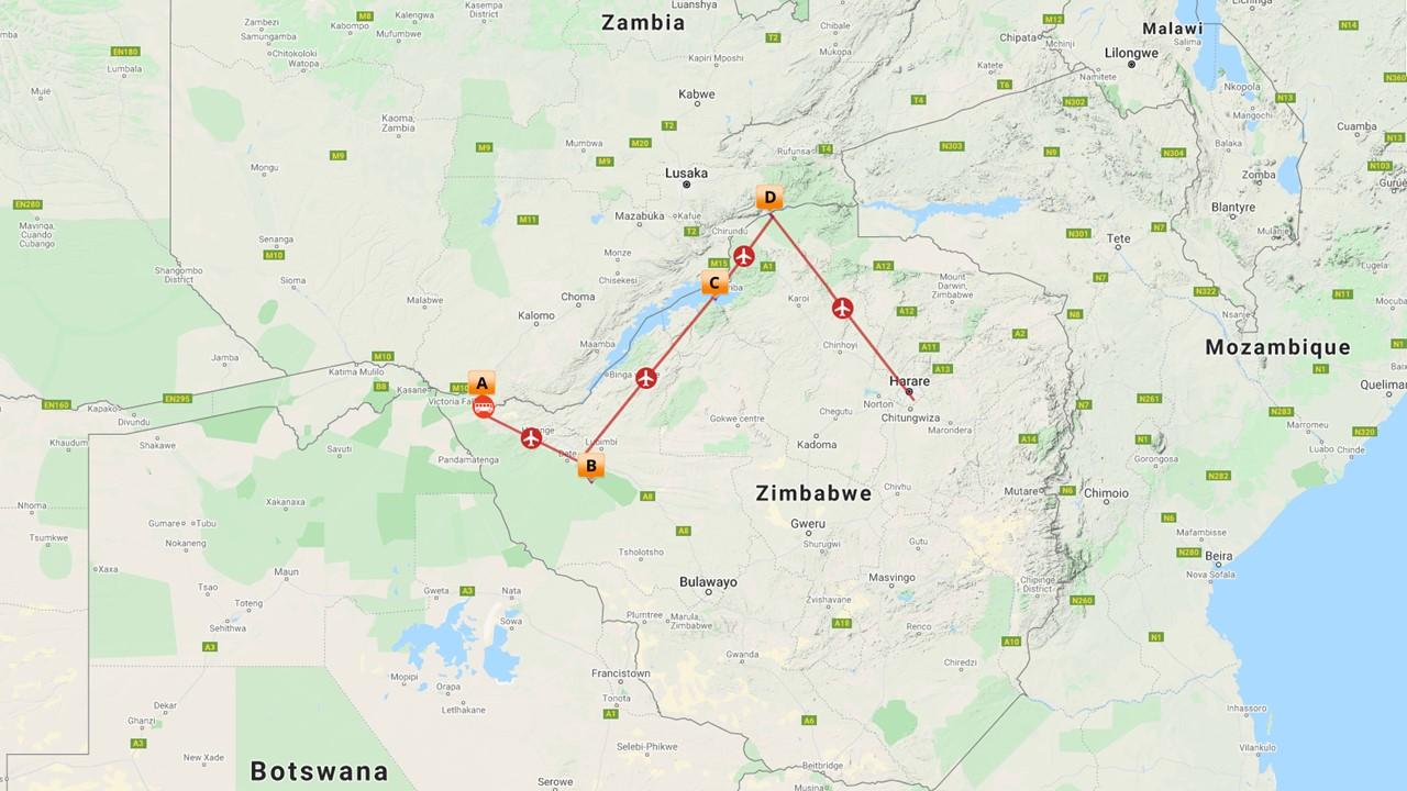 Luxe Zimbabwe safari - 11 dagen