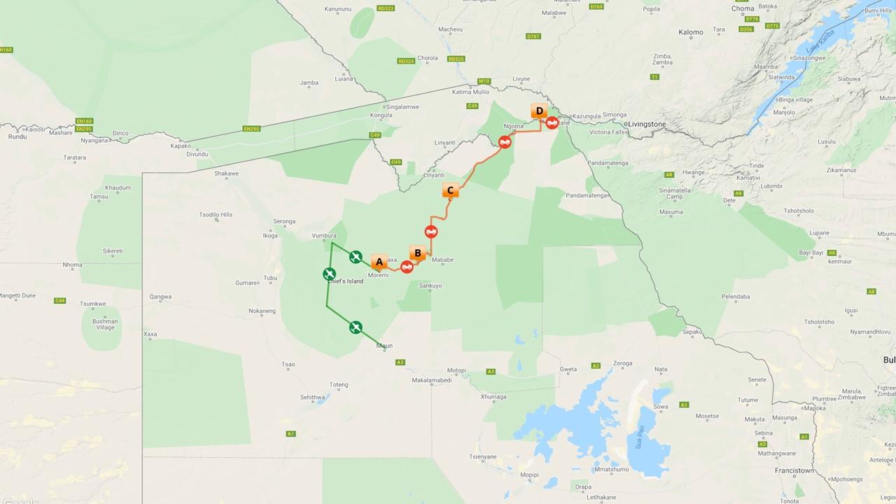 Luxe kampeer reis Afrika, Botswana - 9 dagen