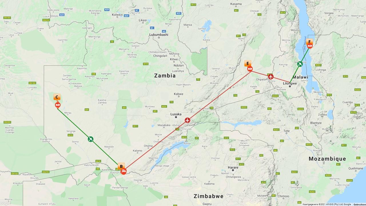 Onontdekt Zambia - Liuwa plains national park - 16 dagen