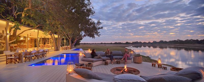 Relaxen bij Chinzombo in South Luangwa National Park Zambia (@Time & Tide)