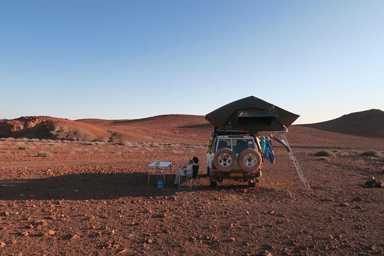 Namibie 4x4 kampeersafari